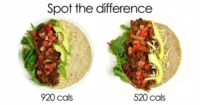 Dietician Shows How The Same Meal Can Have 400+ Calorie Difference And We All Need To Make These Changes