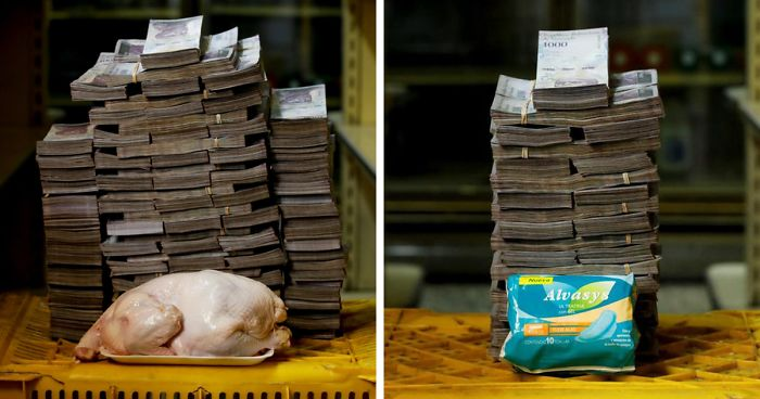 Here's How Much Money You Need To Buy Different Everyday Items In Venezuela (11 Pics)