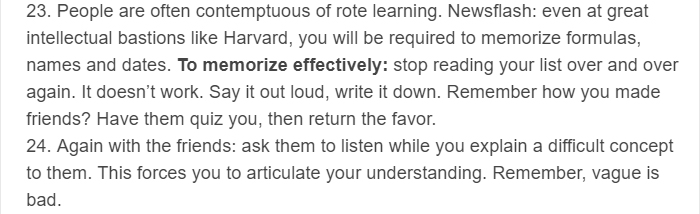 These Studying Tips From A Harvard Graduate Are Priceless