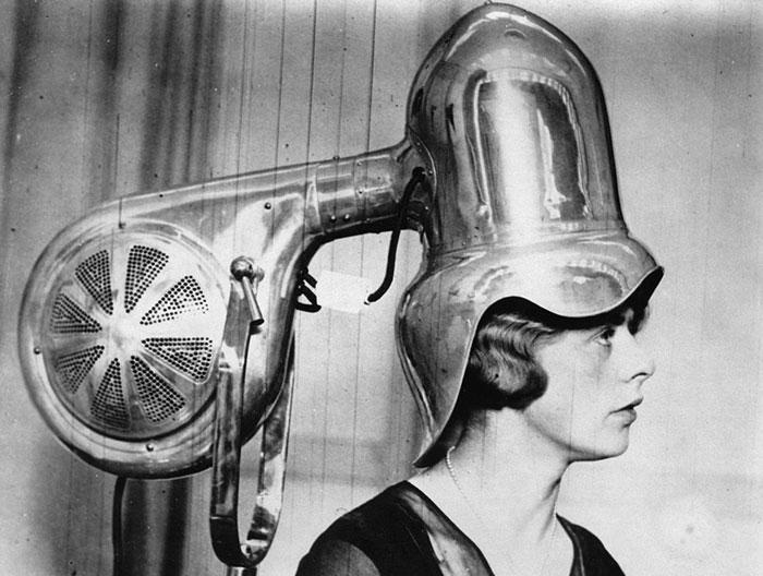 Head-Shaped Hair Dryer, 1935