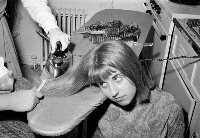 """""""Plancharse"""" el pelo, 1964"""