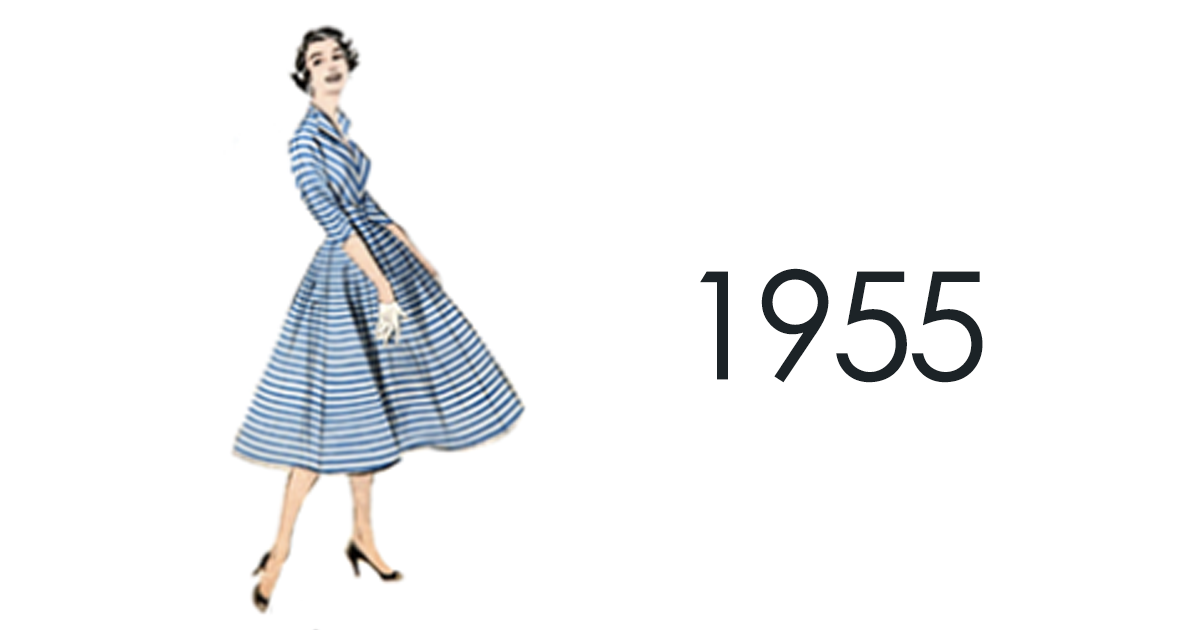 ad080dd40816 Here s How Small Changes In Women s Fashion From 1784 To 1970 Ended Up  Creating A Big