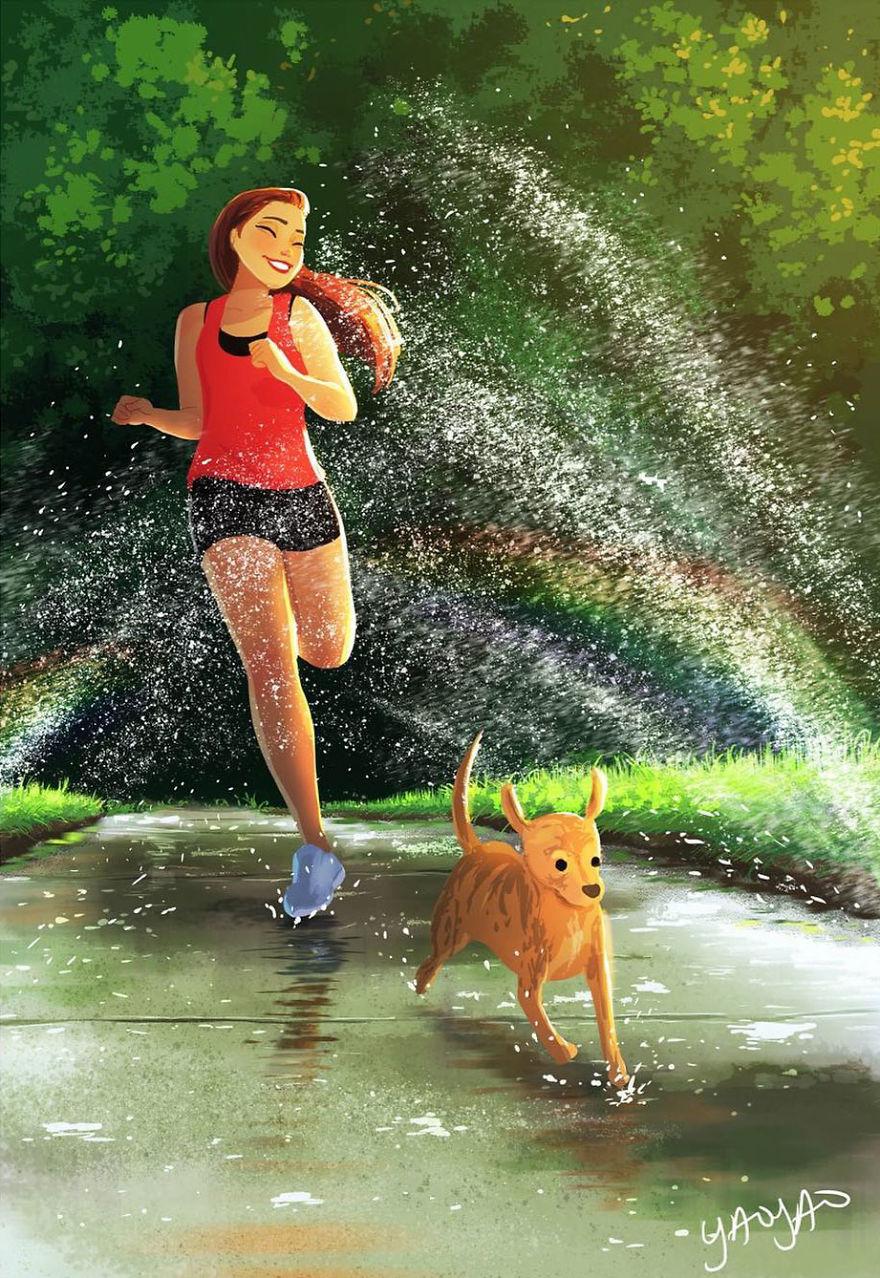 Living-With-Dog-Illustrations-Yaoyaomva