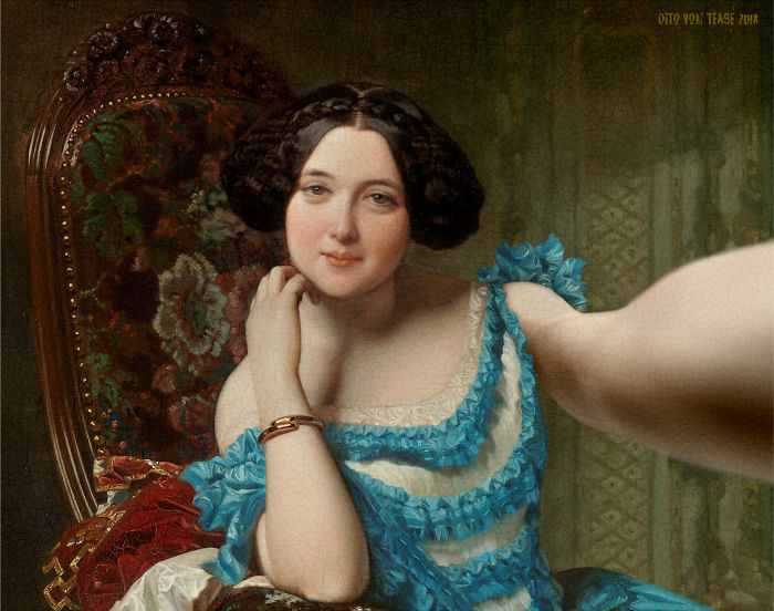 Portrait Of Amalia De Llano U Dotres, Countess Of Vilches – Federico De Madrazo, 1853