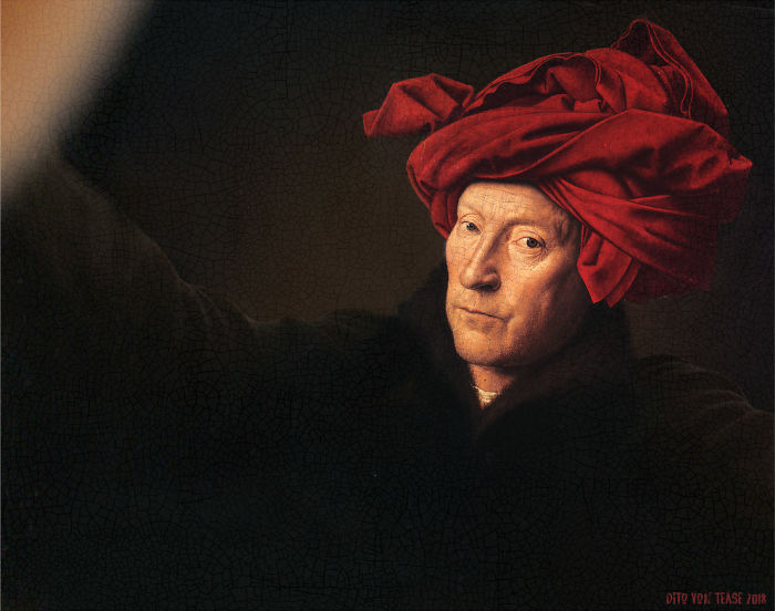 Portrait Of A Man In A Turban – Jan Van Eyck, 1433