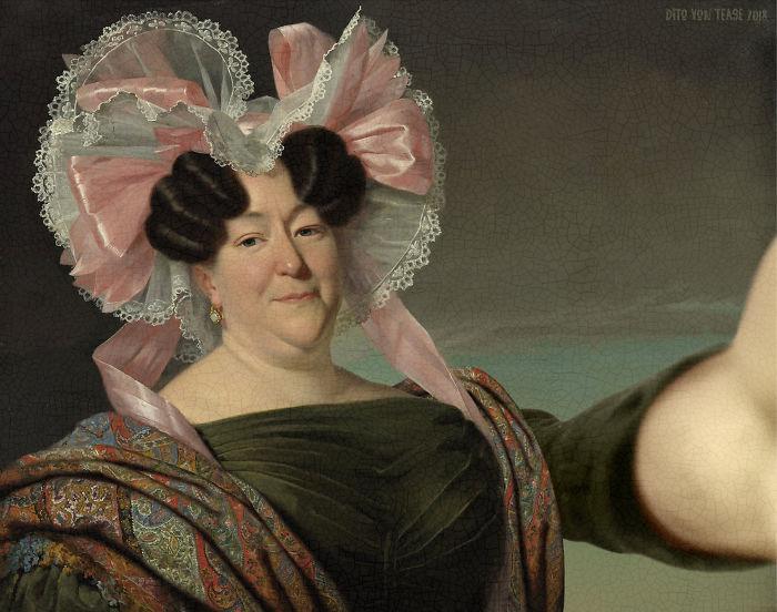 Portrait Of An Unknown Woman – Jan Adam Kruseman, 1829