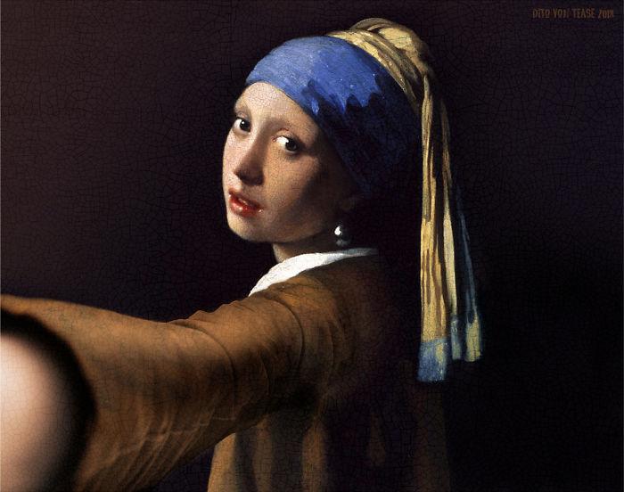 Girl With A Pearl Earring – Jan Vermeer, 1665