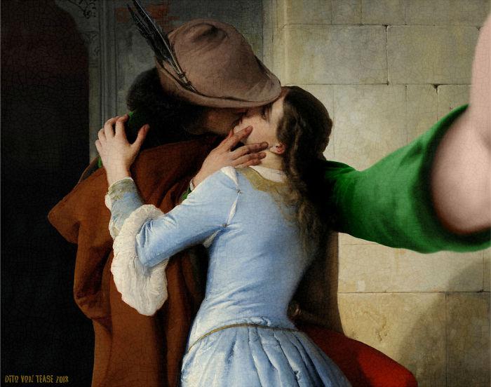 The Kiss – Francesco Hayez, 1859