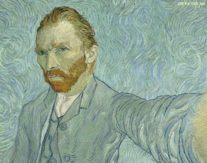 Self-Portrait – Vincent Van Gogh, 1889