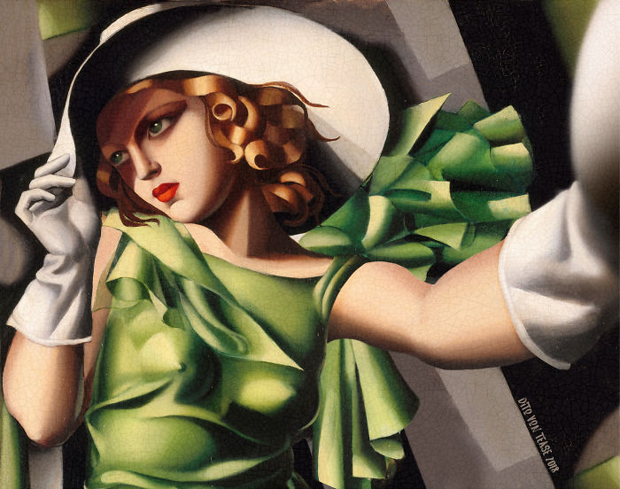 Young Lady With Gloves – Tamara De Lempicka, 1930