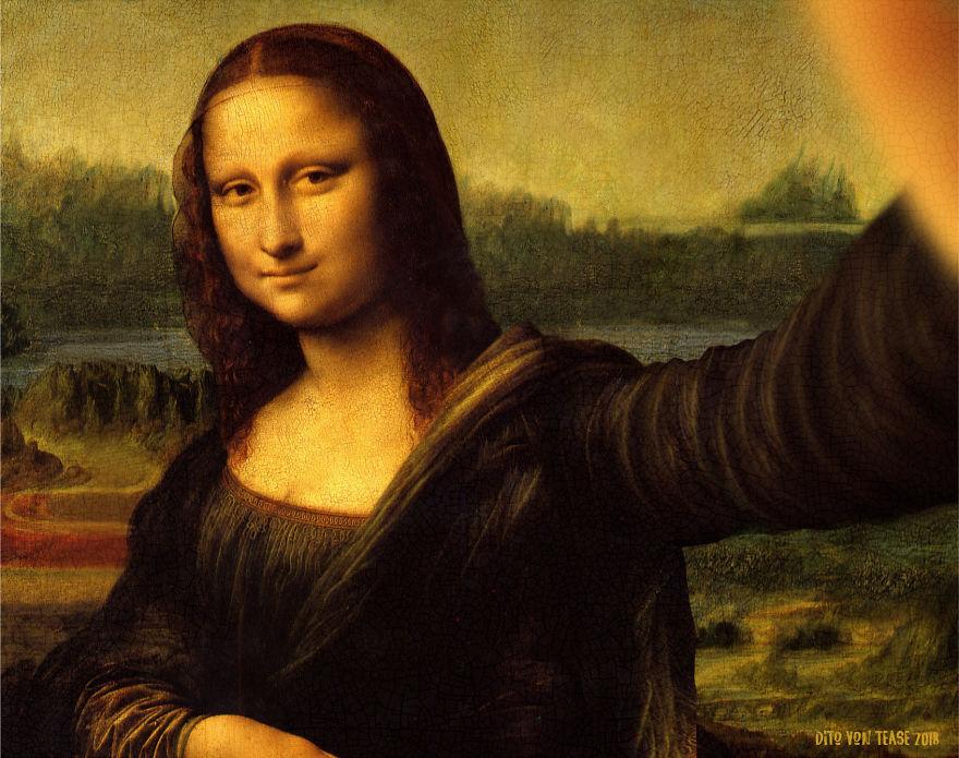 Mona Lisa - Leonardo Da Vinci, 1503/4