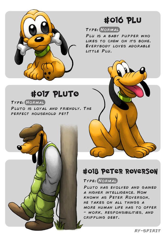 Disney Evolution Pokemon