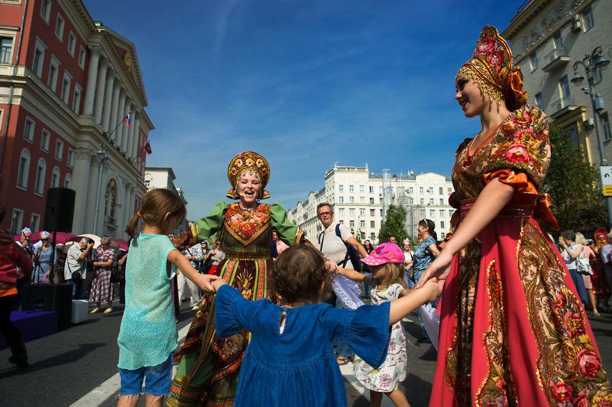 Flower Jam Festival In Moscow