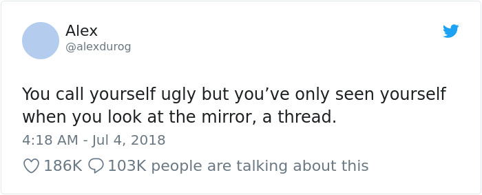 This Woman's Post For 'Ugly' People Is Going Viral