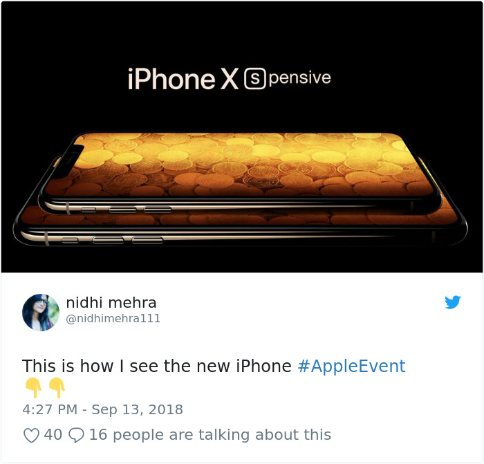 Apple Reveals Its Newest Iphone The Internet Reacts With 62 Hilarious Memes Bored Panda