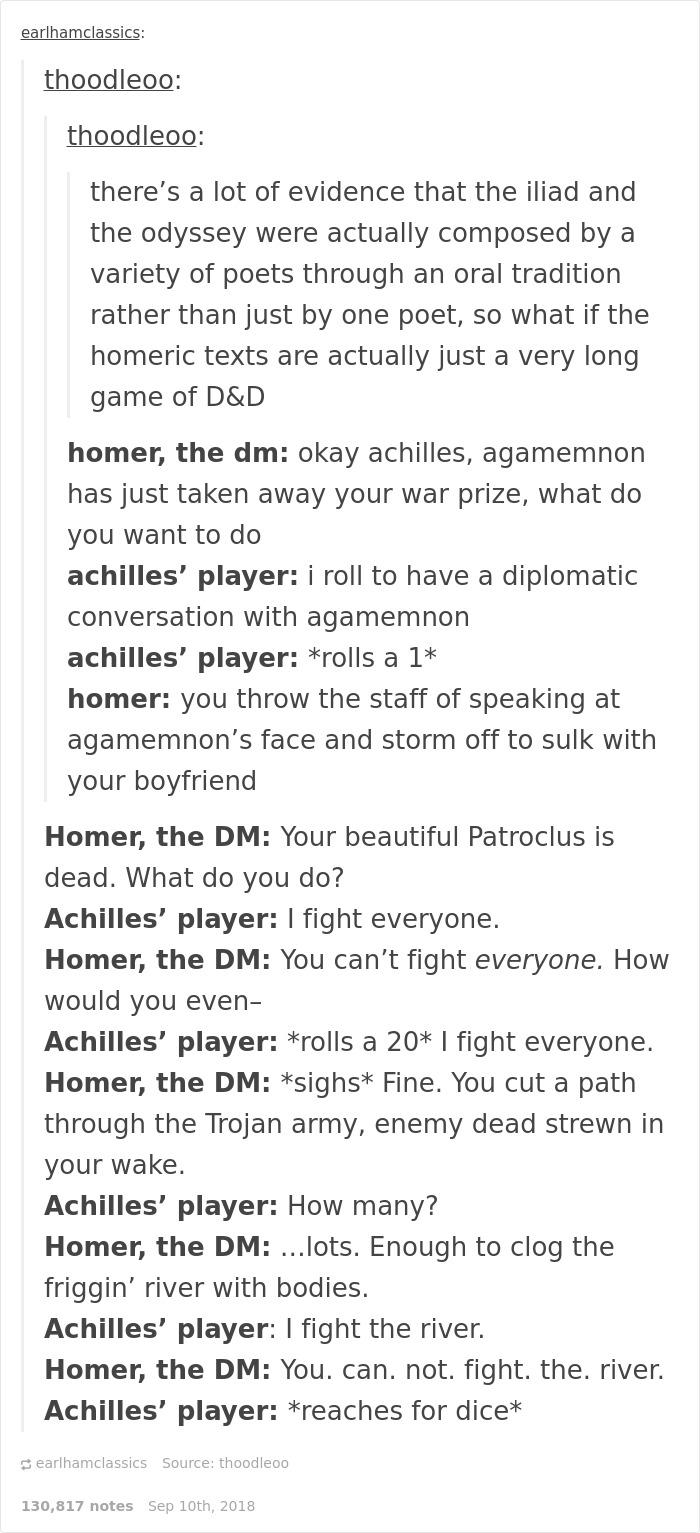 Greek Mythology Jokes