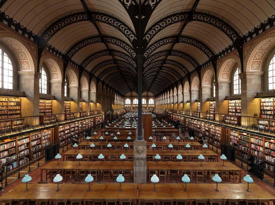 Sainte-Geneviève Public Library, Paris, France