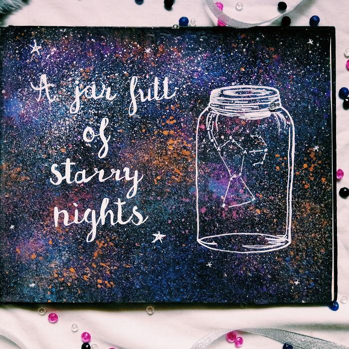 A Jar Full Of Starry Nights