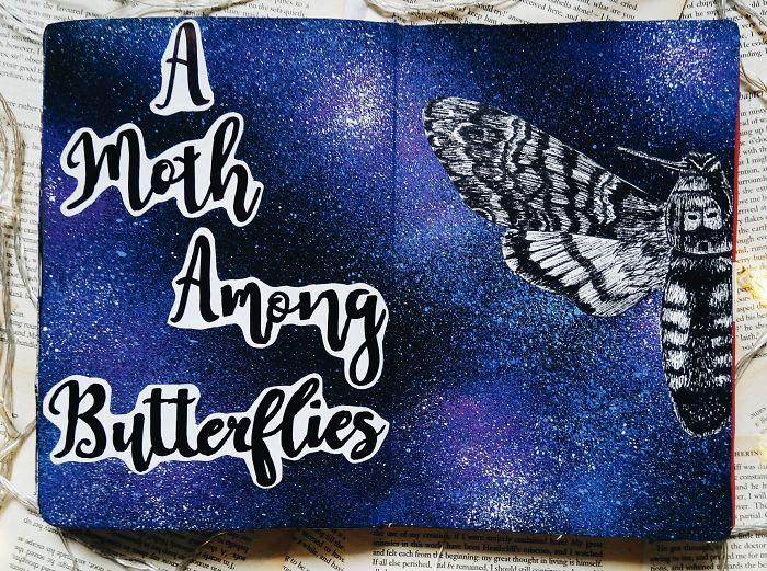 A Moth Among Butterflies