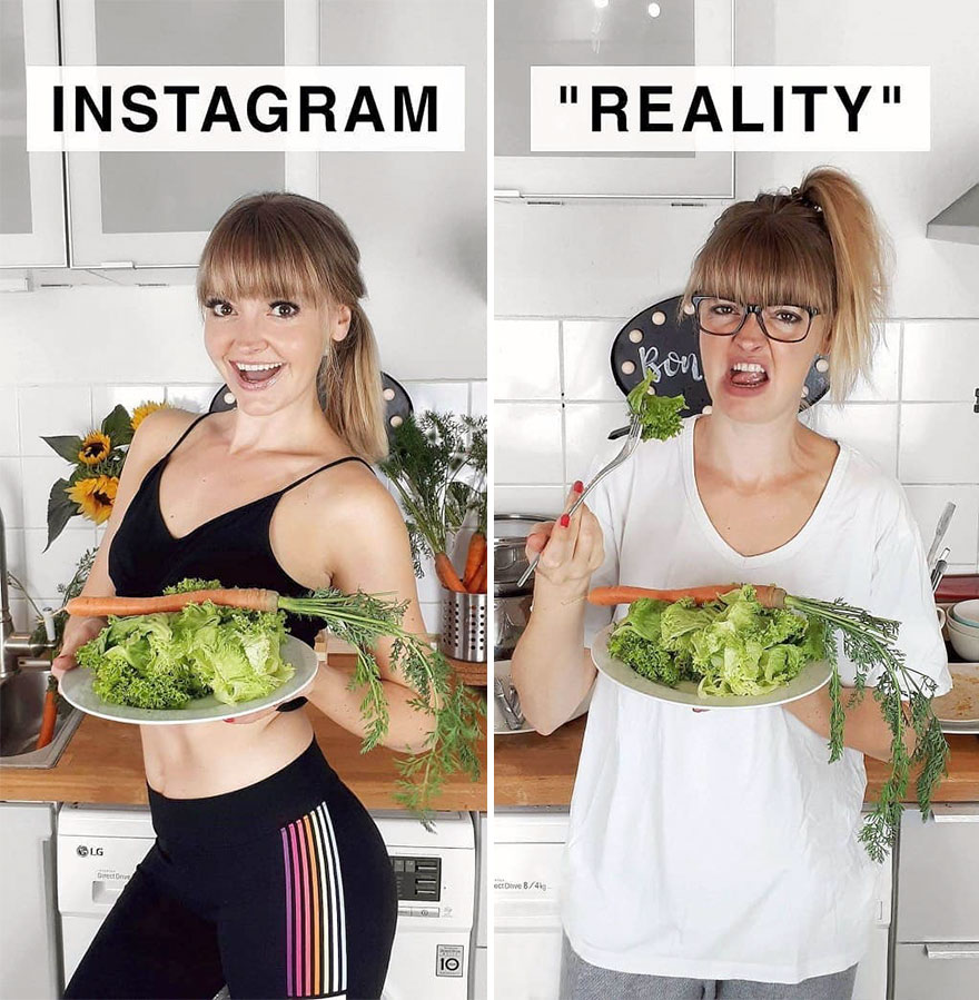 German Shows The Reality Of Perfect Instagram Photos And The Result Is A Lot Of Fun