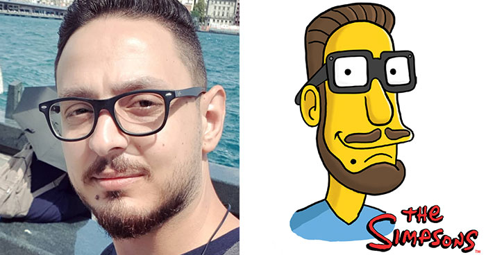 I Challenged Myself To Draw A Self-Portrait In 50 Different Cartoon Styles