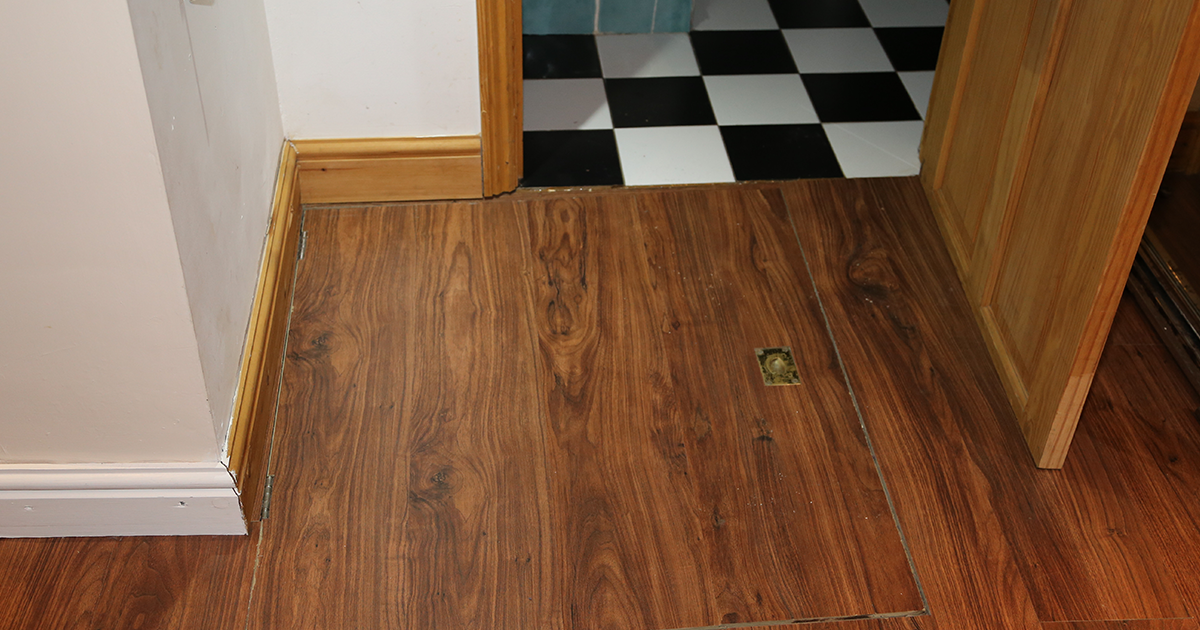 Guy Moves Into New Apartment, Finds A Hidden Trap Door That Wasn't In The Rental Agreement