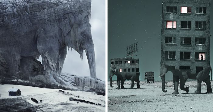 Artist Creates Surreal Landscapes That Balances Between Nature And Another Dimension