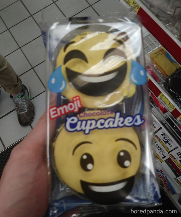 The Emojis Are Only On The Wrapper