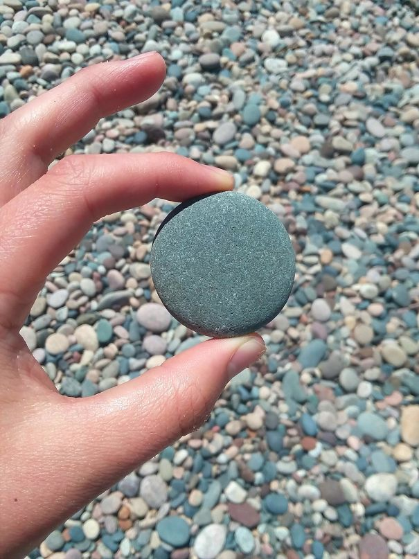 How Perfectly Round This Natural Stone Is