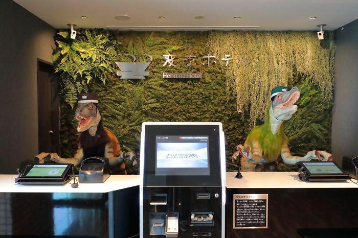 Un Hotel En Tokio Tiene Una Recepción Que Funciona Con Robots Dinosaurios