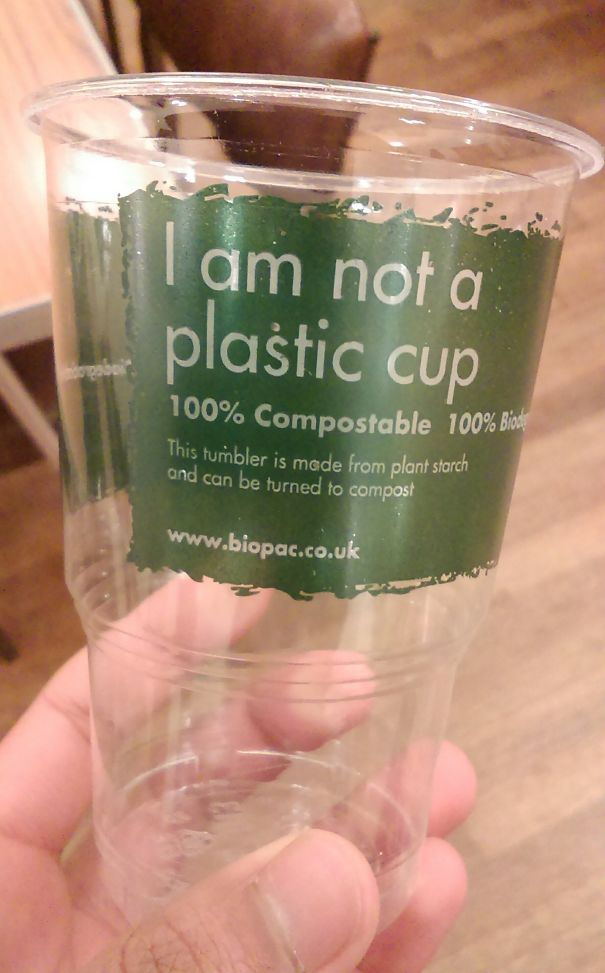 This Cup Is Made From Plant Starch, Not Plastic