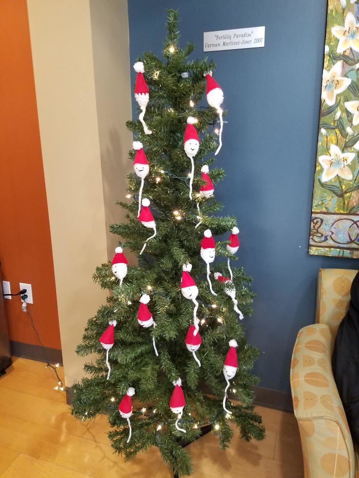 Christmas Tree At My Fertility Clinic