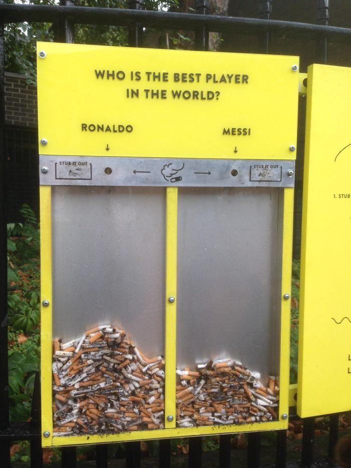 ¿Quién es el mejor jugador? Vota con tus colillas