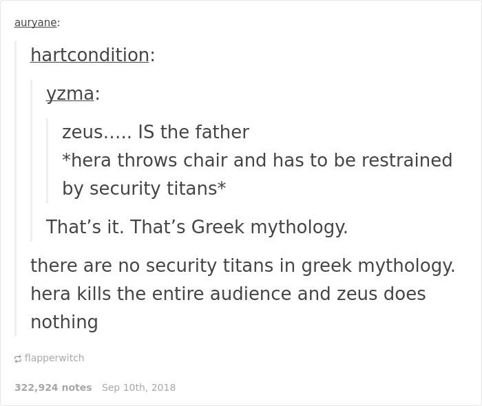 21 Clever Jokes That Only People Who Know Greek Mythology