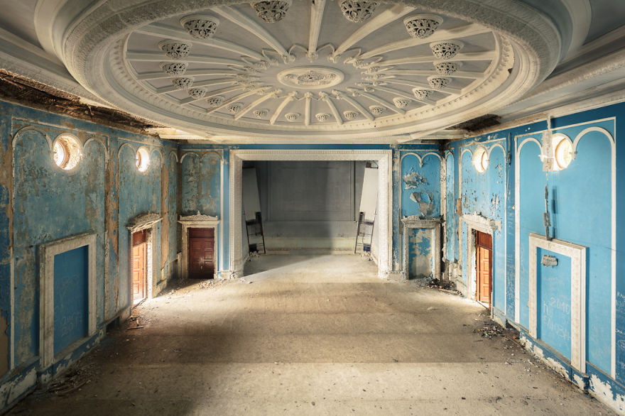 An Abandoned Theater/Cinema