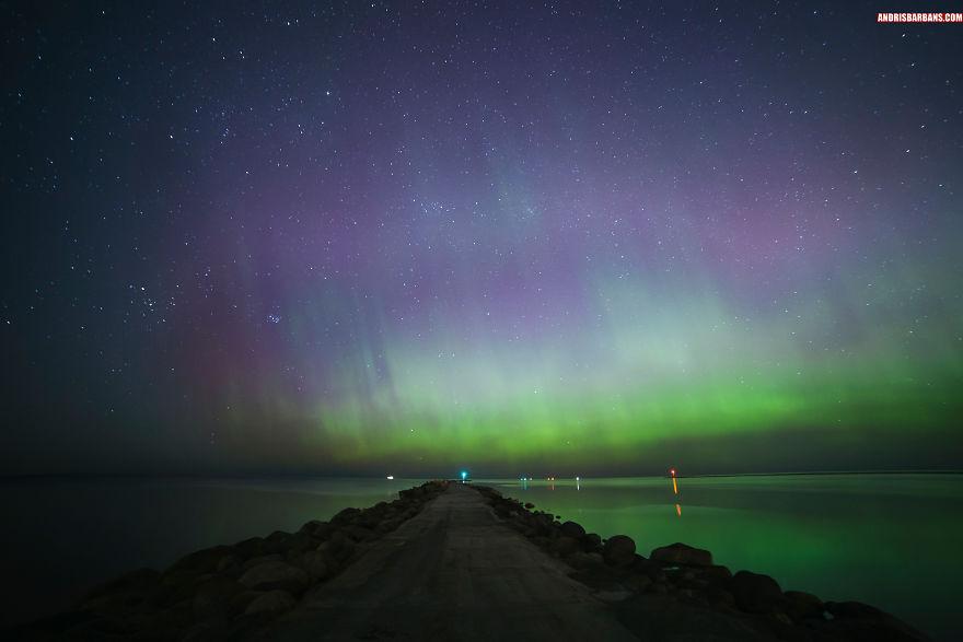 Aurora Borealis Riga