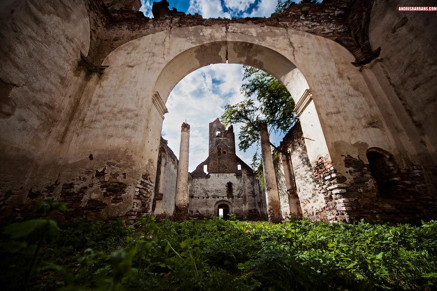 Ruins Of Salgale Church