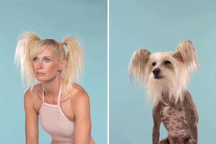 Charlotte & Caspar (Chinesischer Schopfhund)