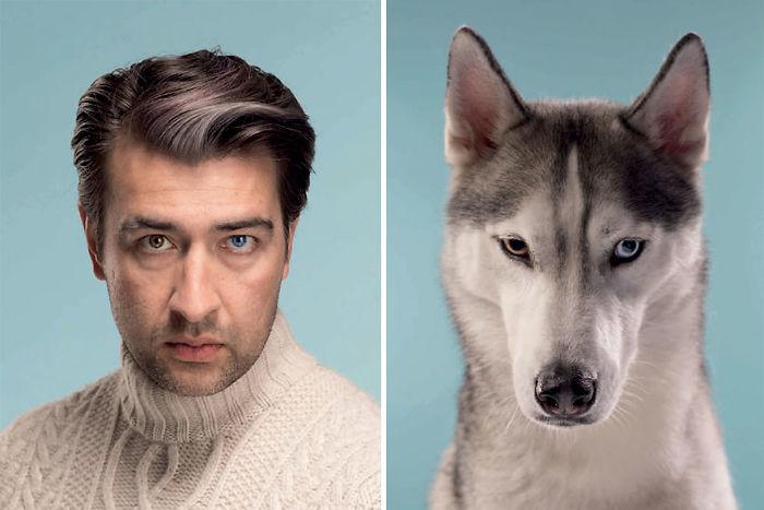 Sergei & Spike (Siberian Husky)