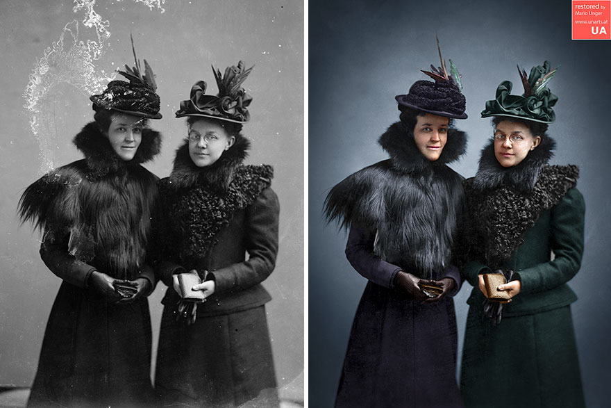 Colley, Mrs. F. & Bell, Mrs. C.M. 1901