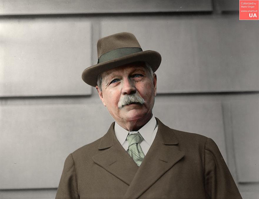 Arthur Conan Doyle, 1922