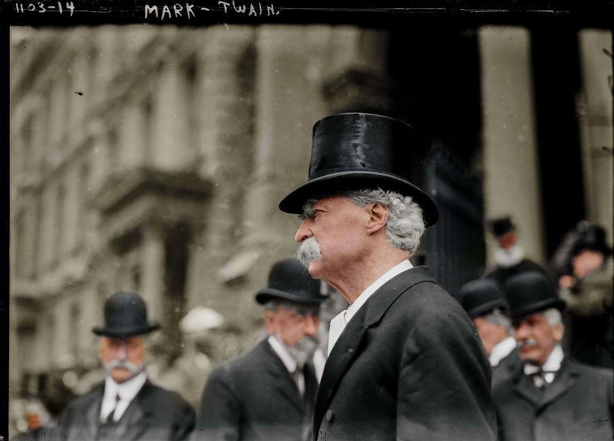 Mark Twain, 1914