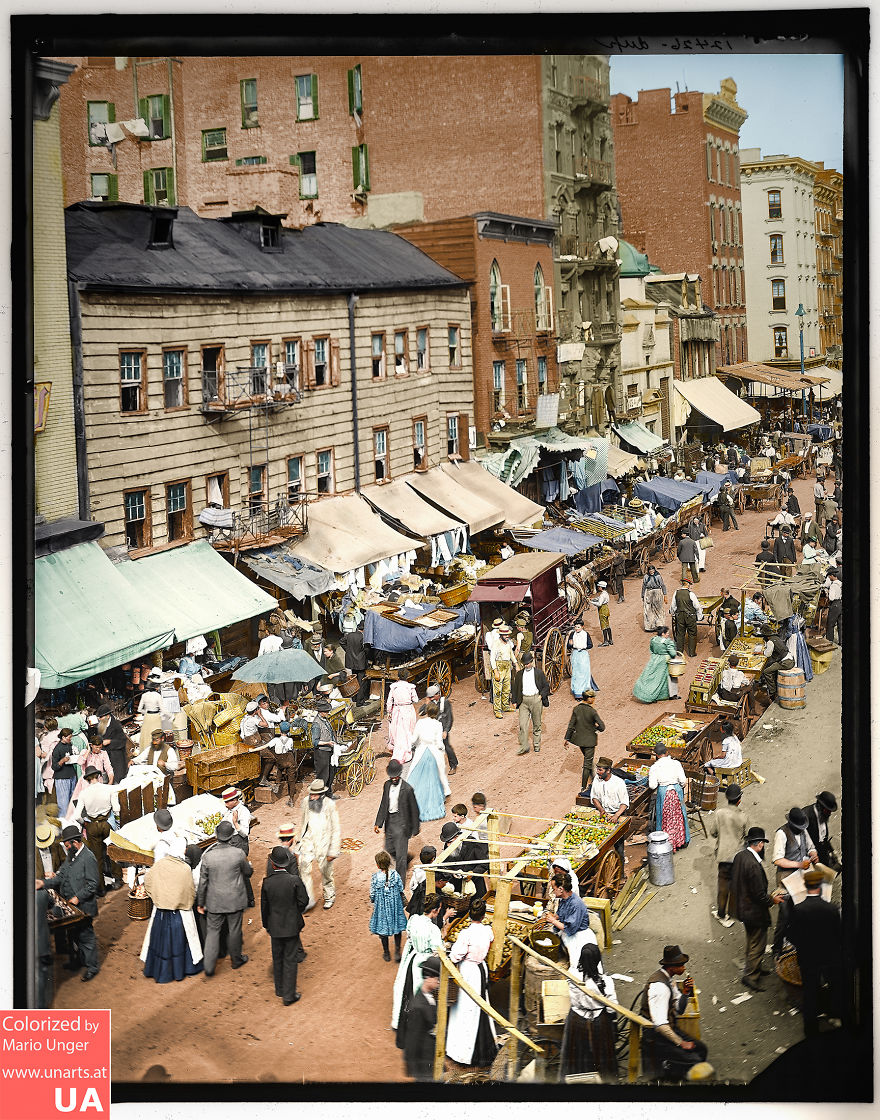 East Side Jewish Market, 1895