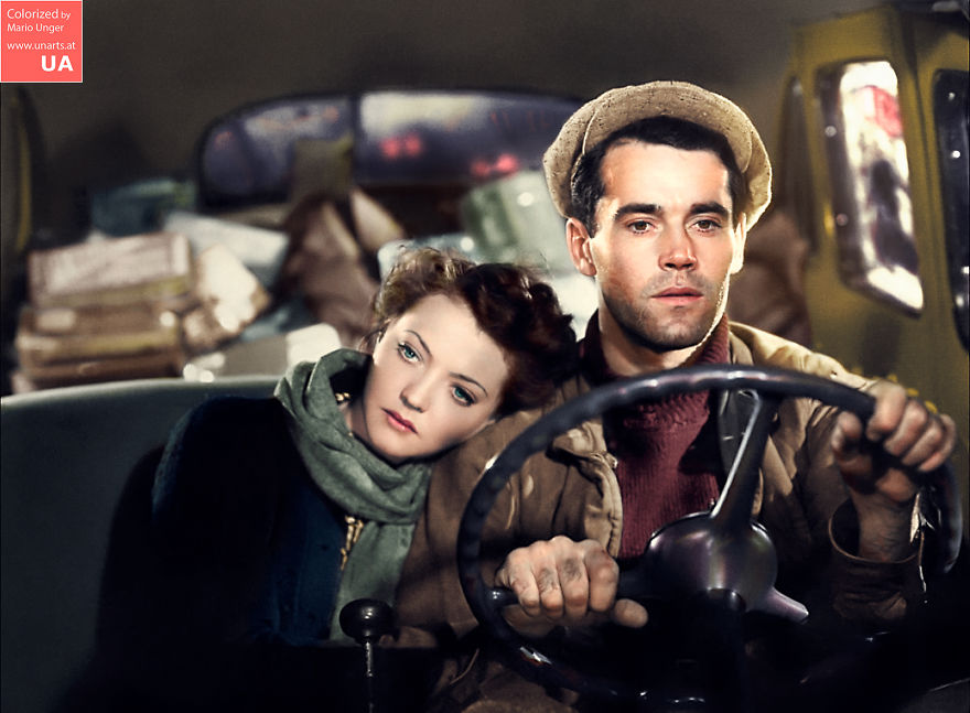 """Silvia Sidney And Henry Fonda In """"You Only Live Once"""" (1937)"""