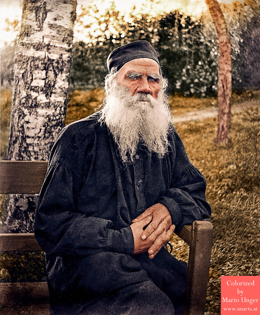Leo Tolstoy, 1897