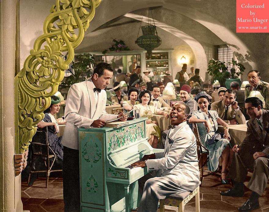 "Humphrey Bogart, ""Casablanca"", 1942"