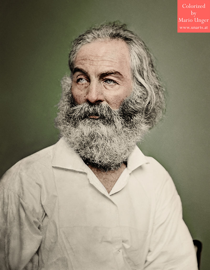 72+ Famous People I Colorized Last Year | Funny Pictures ...