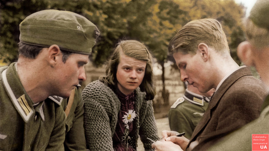 In Honor Of A Great Person. Sophia Magdalena Scholl (1921-1943). Executed 75 Years Ago By The Greatest Criminals Humanity Has Ever Seen