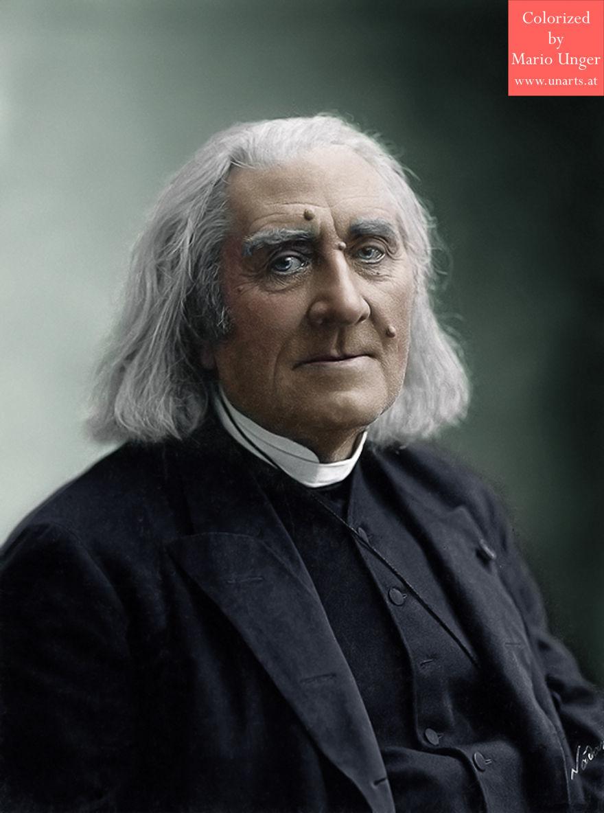 Franz Liszt, 1886