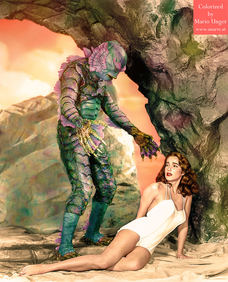 """Julie Adams In """"Creature From The Black Lagoon"""", 1954"""